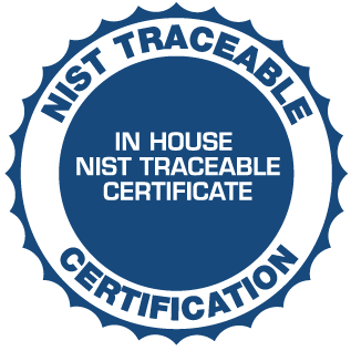 NIST-Traceable-Calibration-Certificate
