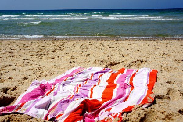 UPF testing beach