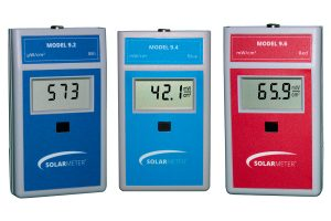 Solarmeter® UV, VIS, and IR Meters